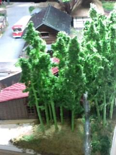 《週刊鉄道模型「少年時代」》竹林の中の水路