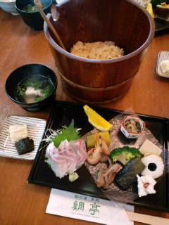 鞆の浦「鯛亭」の鯛茶漬