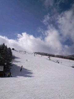 菅平高原のスキー合宿