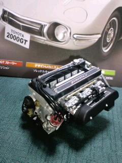 「週刊トヨタ2000GT」2000ccDOHCの3M型エンジン