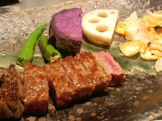 広島ANAホテル「愛宕」の鉄板焼コース